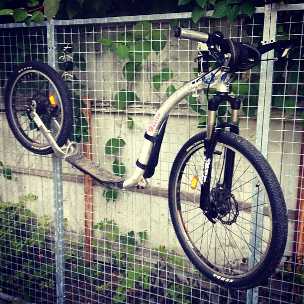 #kickbiking #kickbike#hang#ups#space#saver#home #fredrikstad