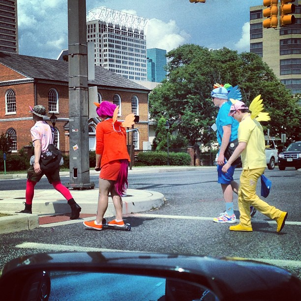 The fine ladies of this town better watch out #BROnies are in town. #onlyinbaltimore #reallife