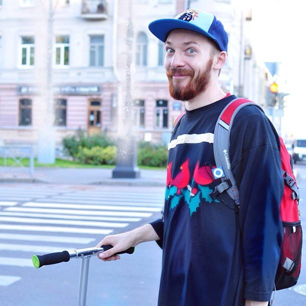 #самокат #катать #СанктПетербург