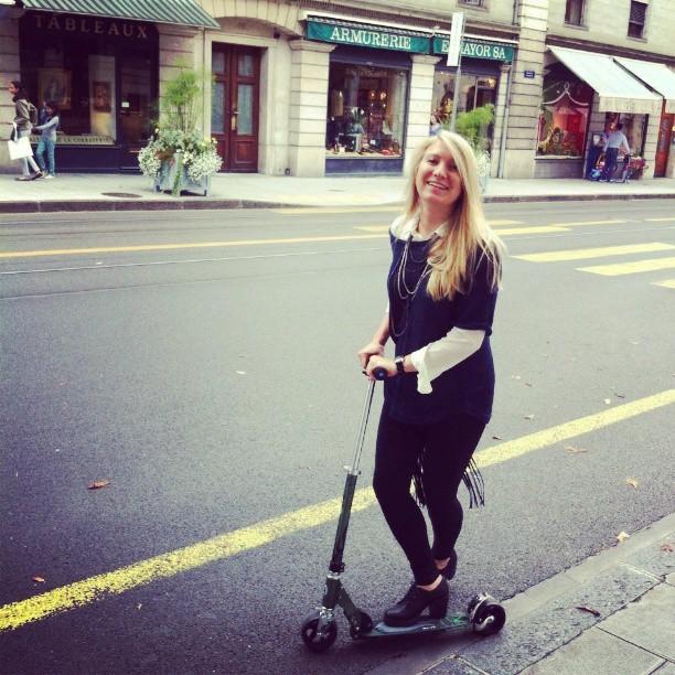 #trotinette #mynew #joy #geneva #streets