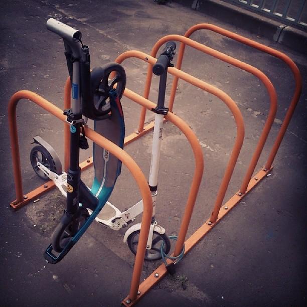 случай на велопарковке