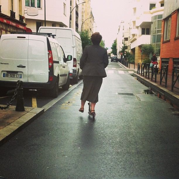 Only in #paris#trotinette