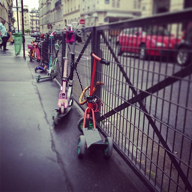 #trotinette#paris#enfant#kids#ecole#school#vavin