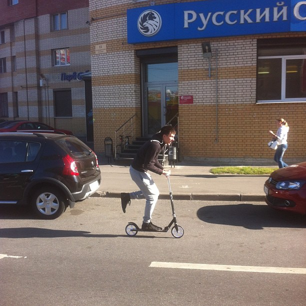 #scooter#питер#самокат#погода#шепчет