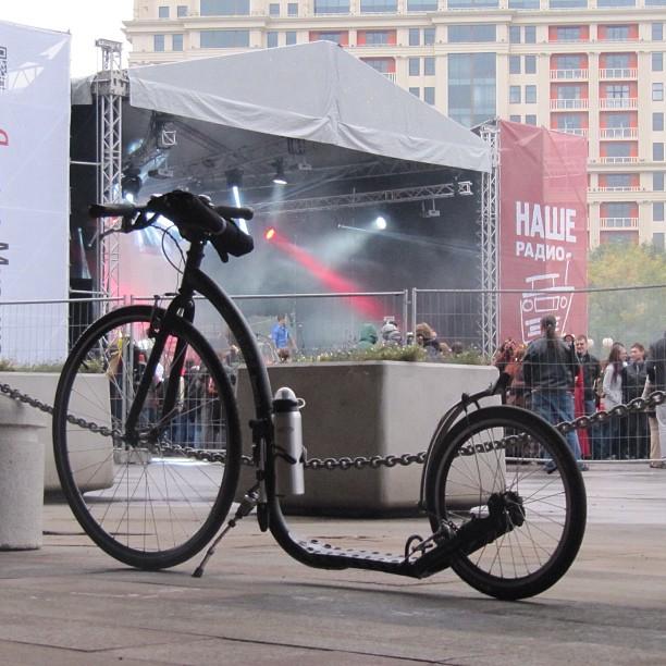 #kickbike #scooter #moscow #hobby #кикбайк  #самокат  #москва #мойгород  #хобби