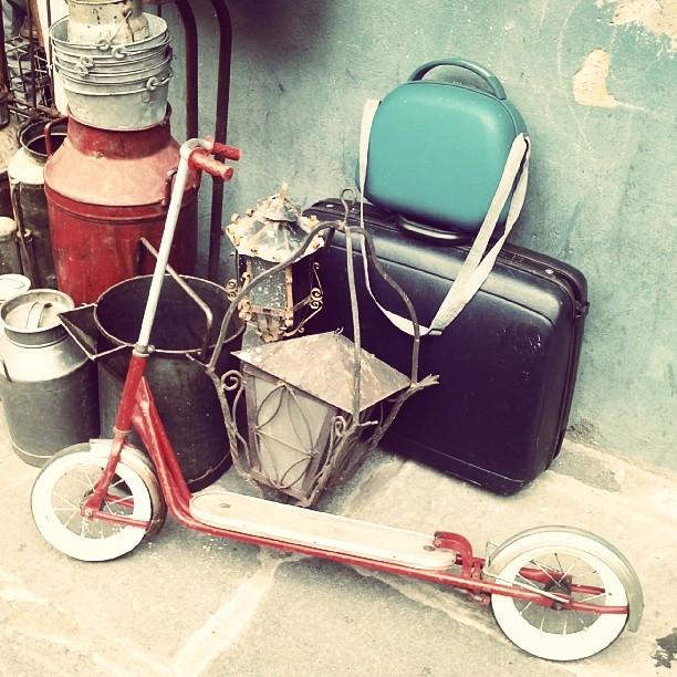 #kickscooter #scooter #monopatin #old #mercadodepulgas #mercadoméxico #