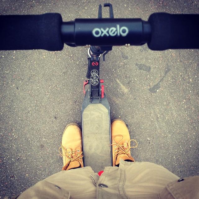 Ногисамокат #самокат #ноги #тимберленд #тимберы #oxelo #letskik