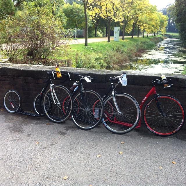 #kickbike #footbike tour #rtf at Dyck #castle #ig_koeln #koelnergram