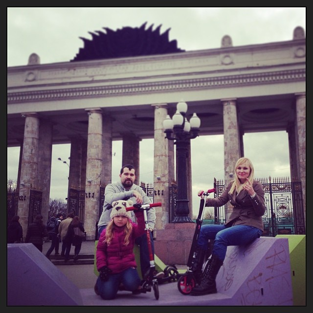 Season closed #vacation #october #letskick #letskickmoscow #porusski #gorkypark #instagood #instaphoto #scooter