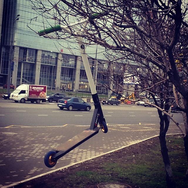 Самокаты поспели :D #letskickmoscow