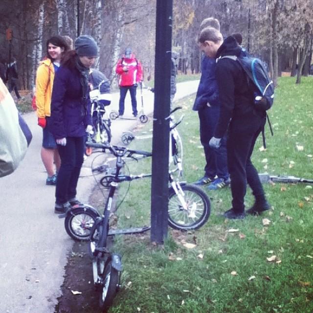 #letskick #moscow #gorkypark