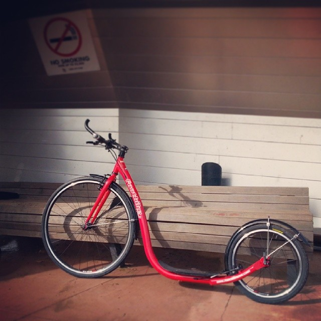 #nothingisordinary #nothingisordinary_ #footbike #slidersandcooters #punggolwaterway #singapore #kicker #bike #extraordinarybike #4simply4