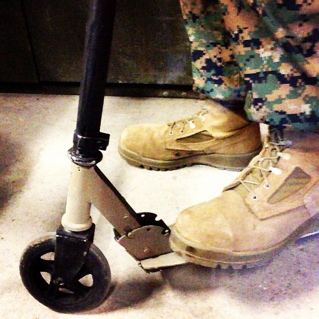 Trying to catch me ridin' dirty. #merica #razorscooter #rollin #dirty