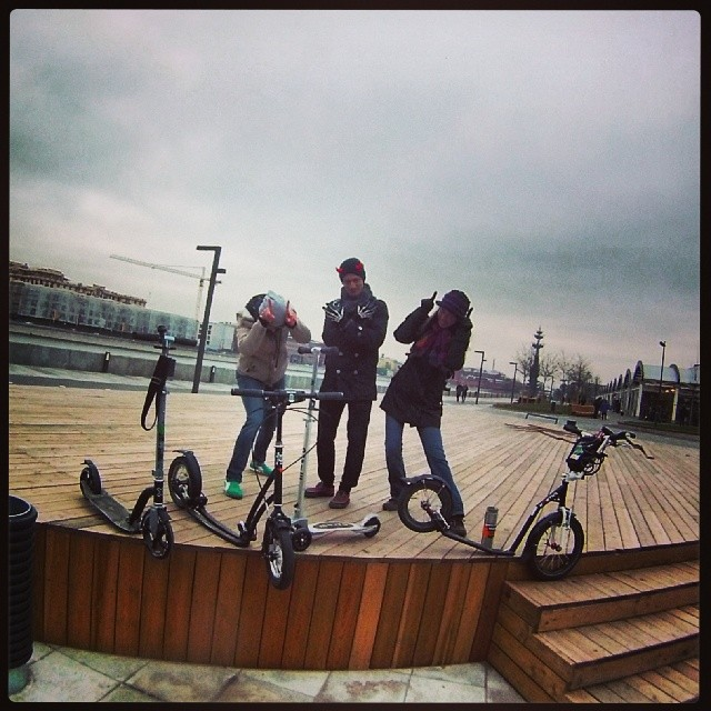 #letskick #letskickmoscow #самокат #Koloběžka #Hulajnoga #Moscow #MSK #Москва #Ноябрь #November #Kostka #KostkaRebel #Mibo #Tiny #Xplore #Bigfoot #Micro