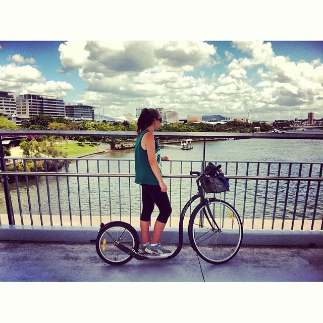 Kick Bike Ride #birthday #fun #happy #withmum #view #beautiful #ride #kickbike
