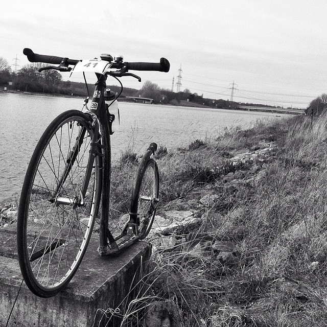 Fühlinger See, a perfect place in #cologne for #kickbike #skates #longboard or #sup , one of my faves