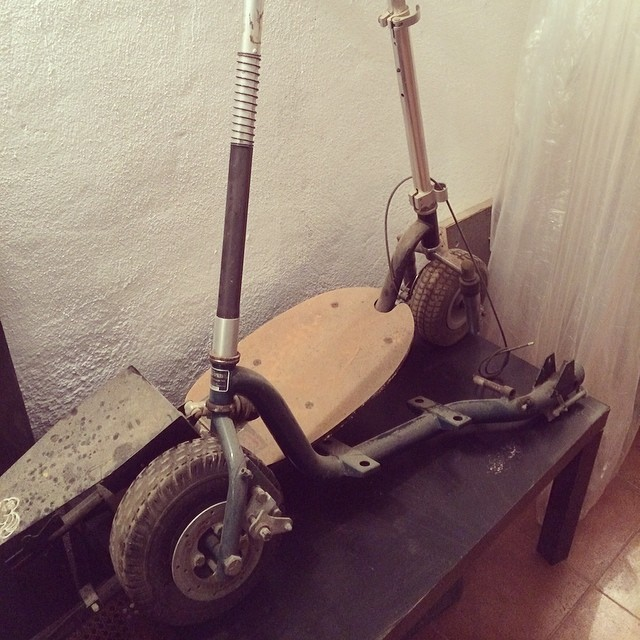 Et trobo a faltar... #scooter #goped #bigfoot #oldschool #old #gas #patinet #patinete