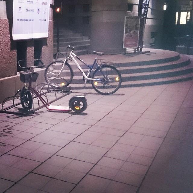 #Хельсинки #велосипед #самокат