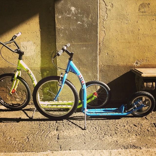 Semplicemente divertente #monopattino #scooter #fast #urbancommuter #urbanmobility #milan