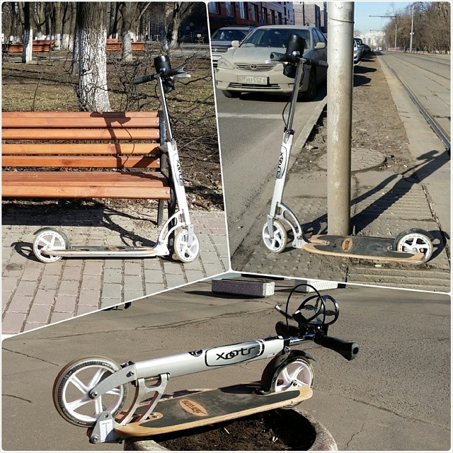 #letskickmoscow #letskick #самокат #Москва #Зима #2014 #kickscooter #Hulajnoga #Koloběžka