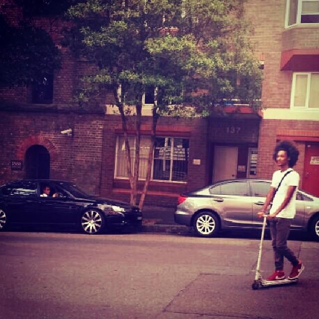 #darling #street #mynew #monopattino!!!