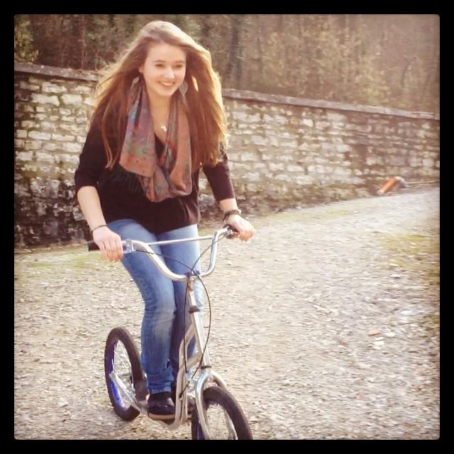 #trotinette#birkenstock#handicapé