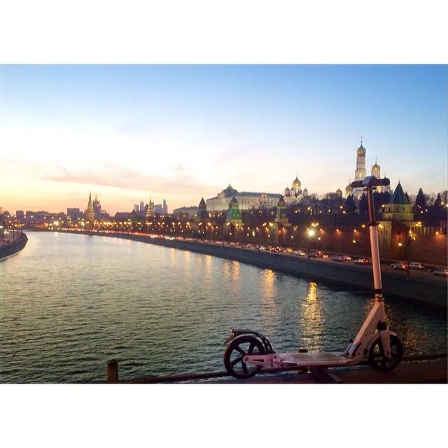 Наслаждайся!))#москва#россия#russia#miscow#scooter#самокат#самосад#самофиат#