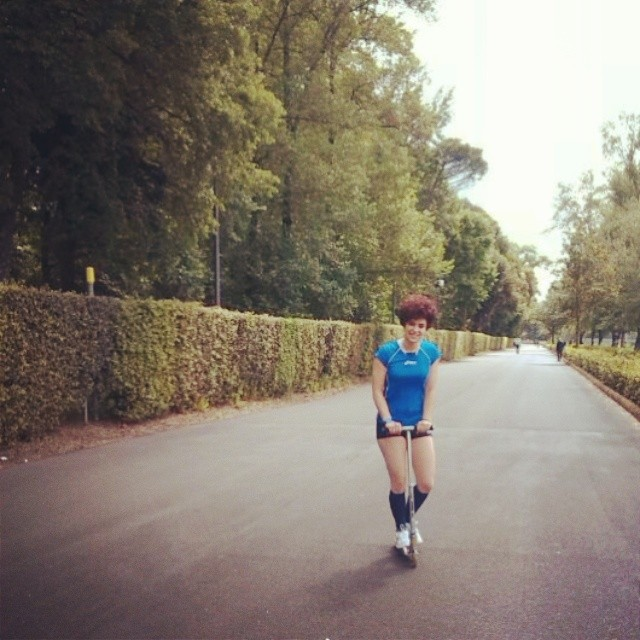 Mattinate alternative #monopattino #jogging #corsa #cascine #firenze #parcodellecascine #spring #morning #mattina