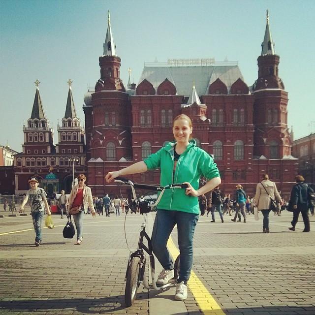 Путь до Красной площади преодолен)