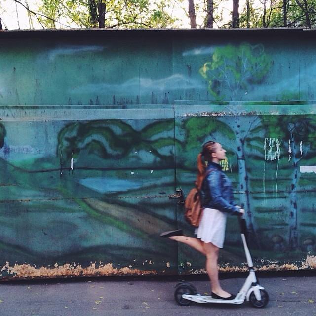 Покатушки :))) #самокат #1мая #нешашлыки