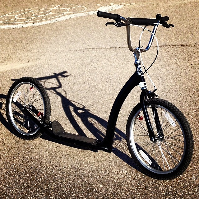 Just kicking it today... You? #kickbike #twowheelmotion #ride