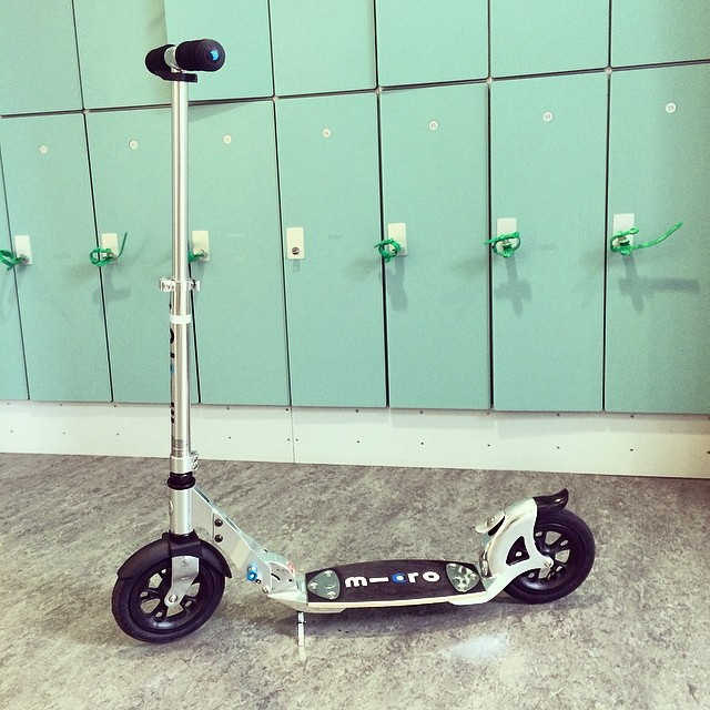 Профиль #scooter #kickscooter #micro #lockers