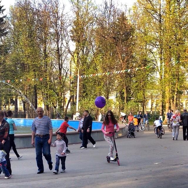 Весь день провела в парке #добрыйдень #город
