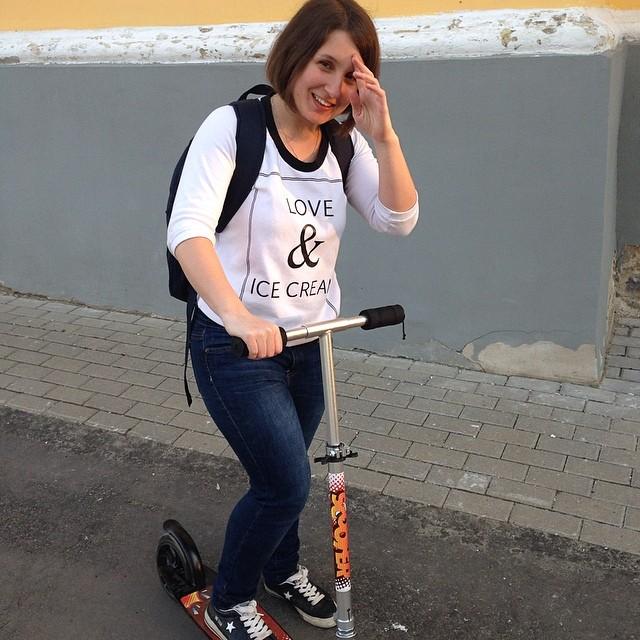 Новый двухколесный друг) #самокат #scooter #spring #saturday #суббота #весна