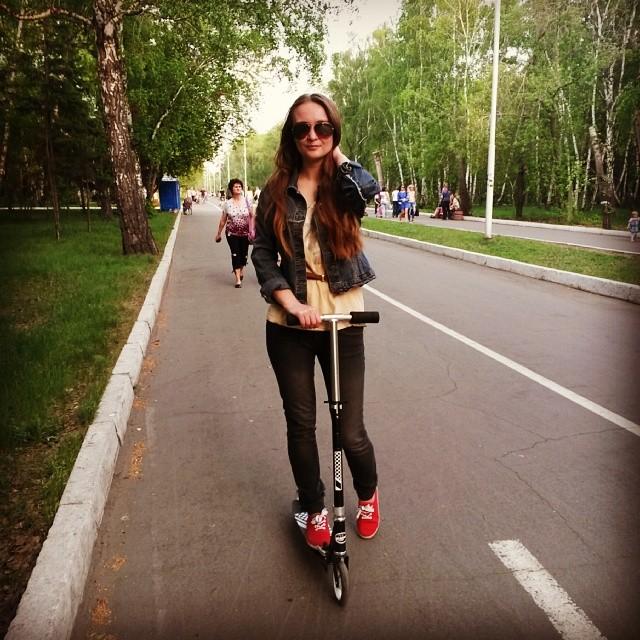 #самокат #омск весьма неплохо