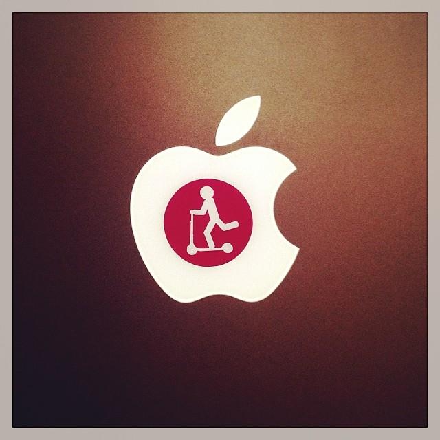 #letskick #letskickmoscow #самокат #apple