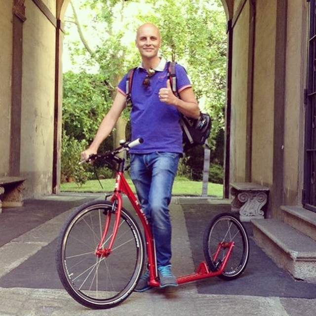 #footbike #kickbike #monopattino #scooter #bike #bycicle #cycling #bici #bicicletta
