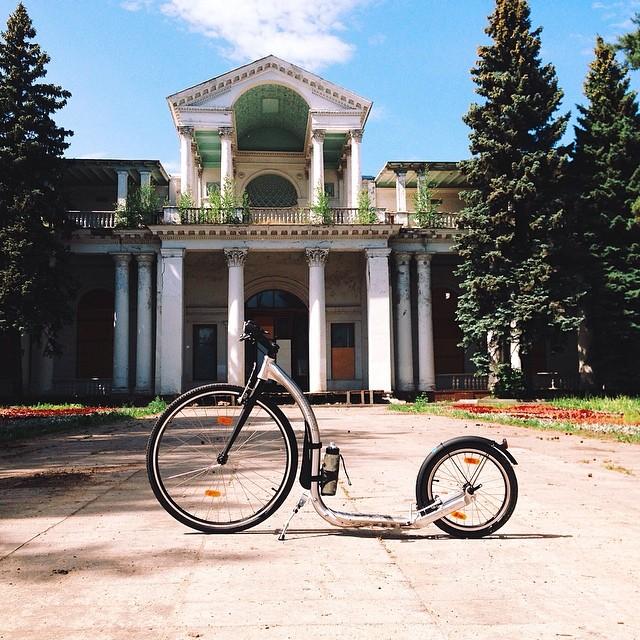 #самокат #kickbike #letskick #letskickmoscow #moscow #вднх #москва
