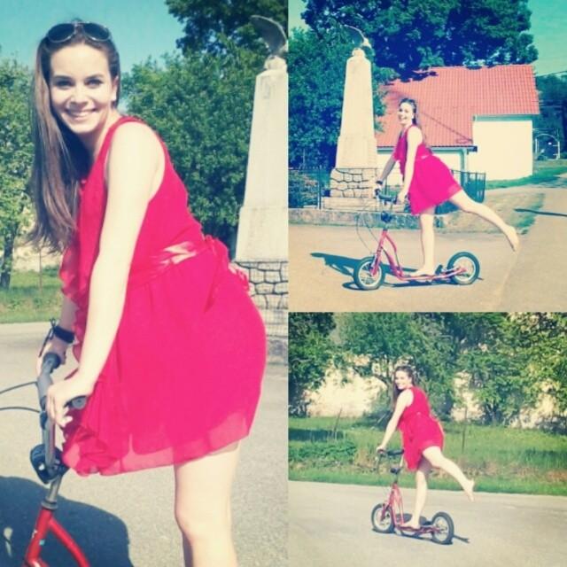 #princezna #kolobezka