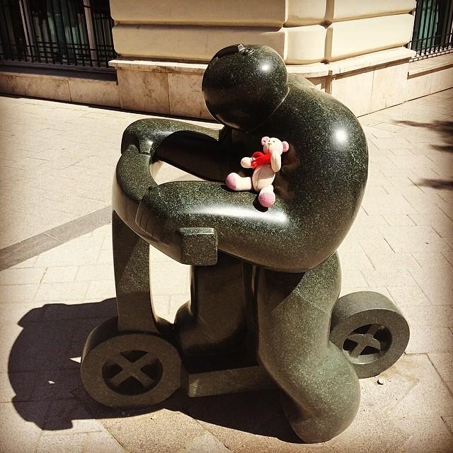 #мишка #мишкаtravelfriend #людовиквторой в #будапешт #budapest