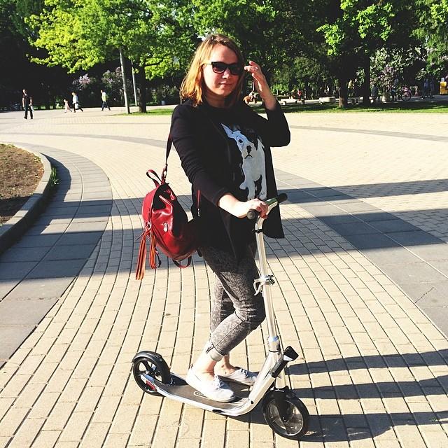 #scooter#park#gooood#новыйдруг#самокат#еееее...#держитеменя