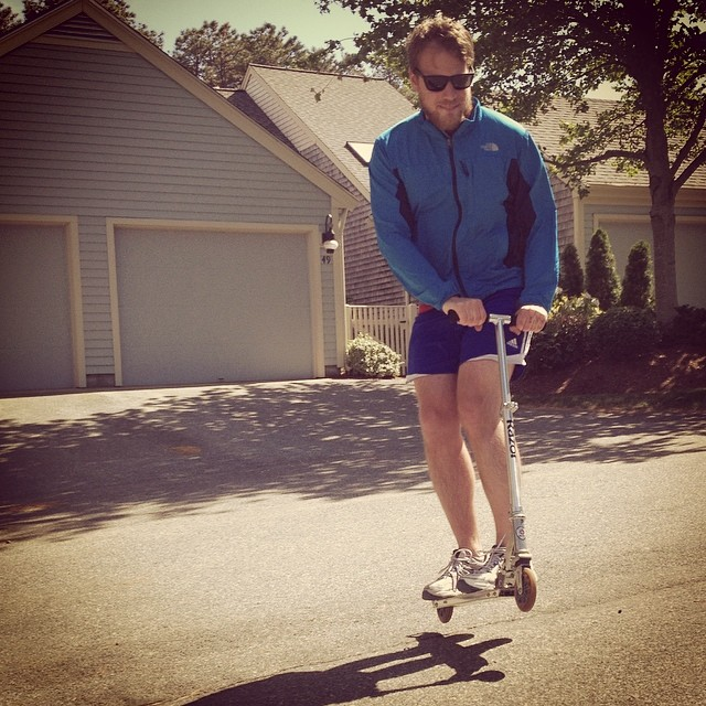 Too cool for the Cape. #capecod #razorscooter #dope