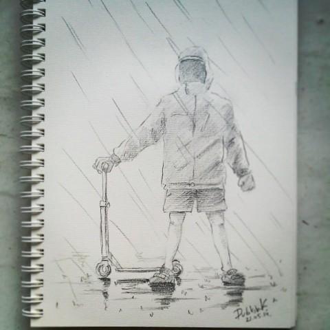 #самокат #дождь #letskick #letskickekb