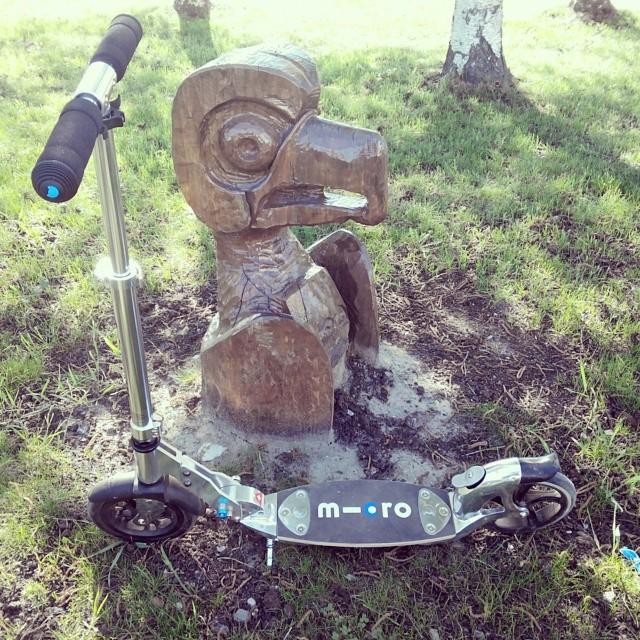 Моя радость и моя боль #microflexair #самокат  #kickboard #scooter