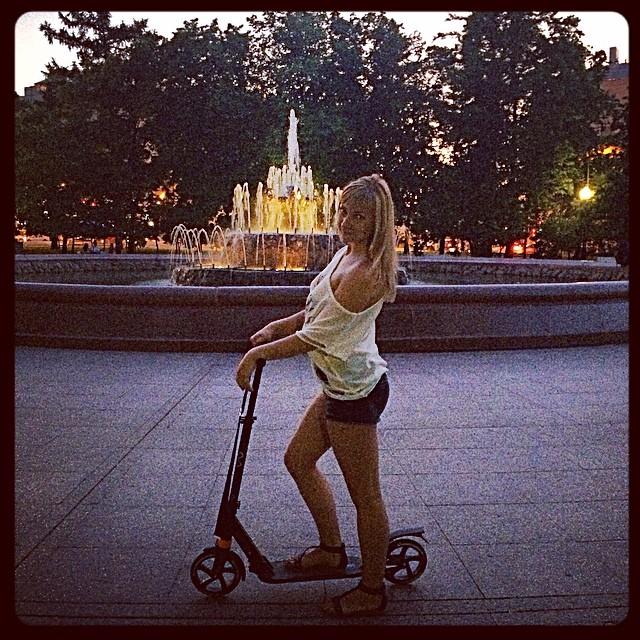 А самокат оказывается- это мега #russia #moscow#москва#friday##weekend#scooter#самокат
