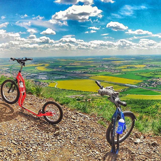 #trip #hill #yedoo #mezeq #footbike #nature #homeland #sky #clouds #viewpoint #czech