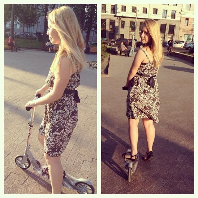 #scooter #scooters ##riding #girl #russiangirl #blond #sunny #sun #city #citycenter #photoofteday #tverskaya #moscow #russia #самокат #самокаты #солнышко #солнце #катаемся #пятница #тверская #пушкинскаяплощадь #москва #россия